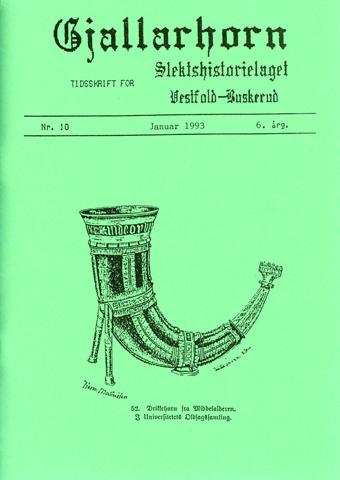 Gjallarhorn nr 10 utgitt 1993