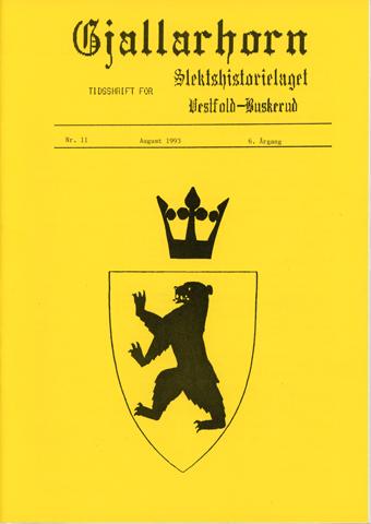 Gjallarhorn nr 11 utgitt 1993
