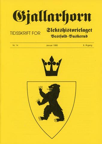 Gjallarhorn nr 14 utgitt 1995
