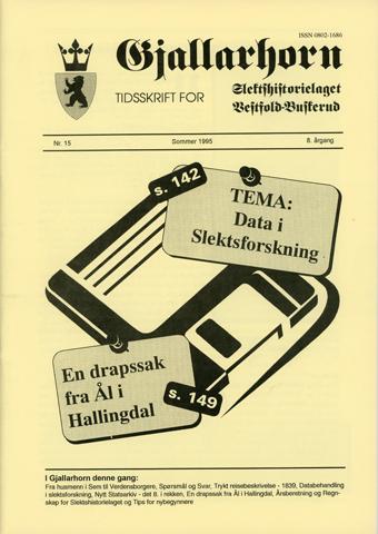 Gjallarhorn nr 15 utgitt 1995