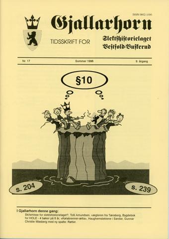 Gjallarhorn nr 17 utgitt 1996