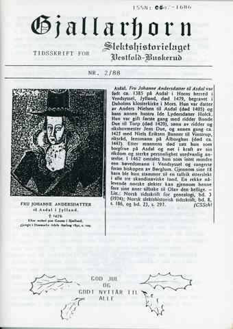 Gjallarhorn nr 2 utgitt 1988
