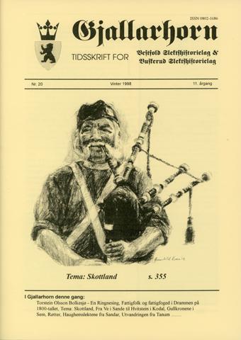 Gjallarhorn nr 20 utgitt 1998
