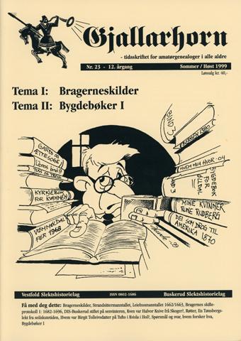 Gjallarhorn nr 23 utgitt 1999