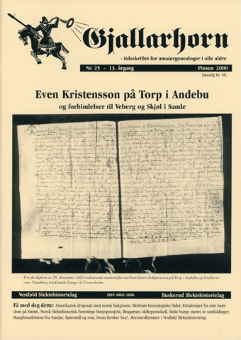 Gjallarhorn nr 25 utgitt 2000