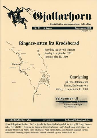 Gjallarhorn nr 28 utgitt 2001