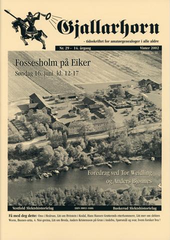 Gjallarhorn nr 29 utgitt 2002