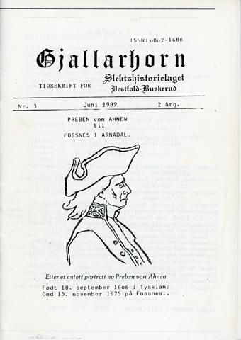 Gjallarhorn nr 3 utgitt 1989