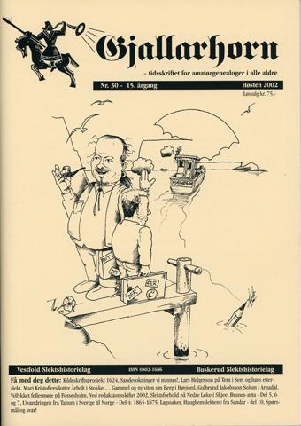 Gjallarhorn nr 30 utgitt 2002