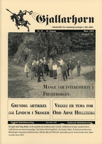 Gjallarhorn nr 31 utgitt 2003