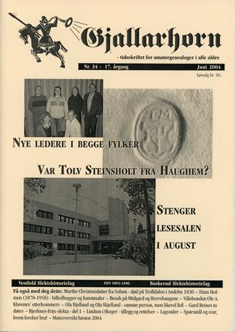 Gjallarhorn nr 34 utgitt 2004