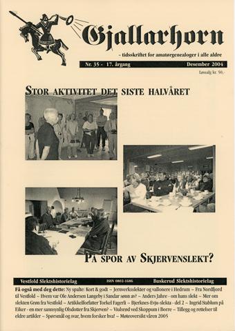 Gjallarhorn nr 35 utgitt 2004