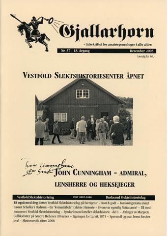Gjallarhorn nr 37 utgitt 2005