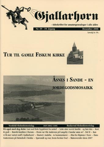 Gjallarhorn nr 39 utgitt 2006