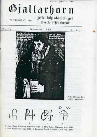 Gjallarhorn nr 4 utgitt 1989