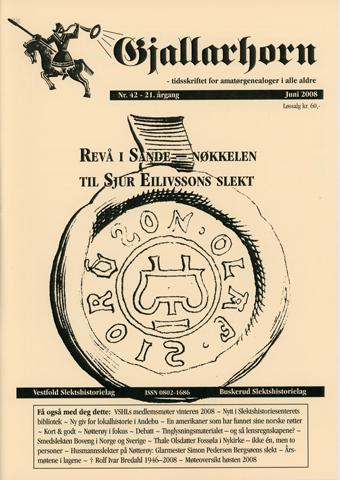 Gjallarhorn nr 42 utgitt 2008