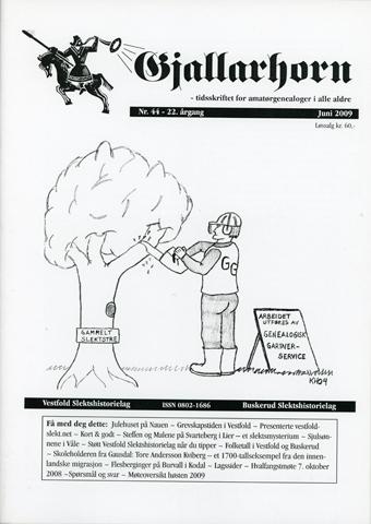 Gjallarhorn nr 44 utgitt 2009