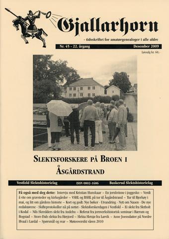Gjallarhorn nr 45 utgitt 2009