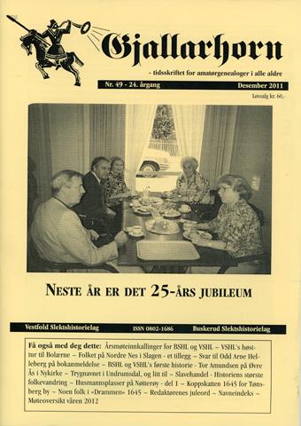 Gjallarhorn nr 49 utgitt 2011
