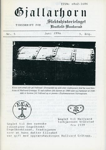 Gjallarhorn nr 5 utgitt 1990