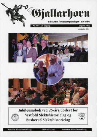 Gjallarhorn nr 50 utgitt 2012 Jubileumsutgave