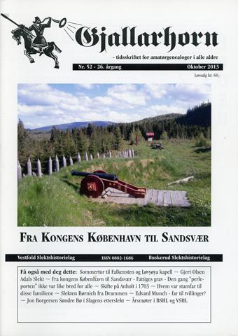 Gjallarhorn nr 52 utgitt 2013