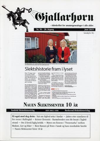 Gjallarhorn nr 56 utgitt 2015