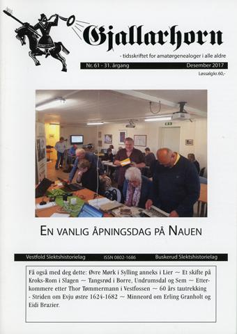 Gjallarhorn nr 61 utgitt 2017