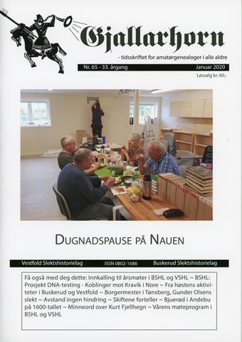 Gjallarhorn nr 65 utgitt 2019