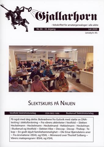 Gjallarhorn nr 66 utgitt 2020