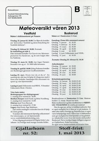 Gjallarhorn nr 51 utgitt 2012