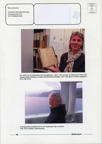 Gjallarhorn nr 54 utgitt 2014