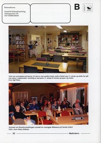 Gjallarhorn nr 55 utgitt 2015
