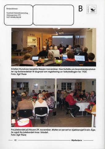 Gjallarhorn nr 63 utgitt 2018