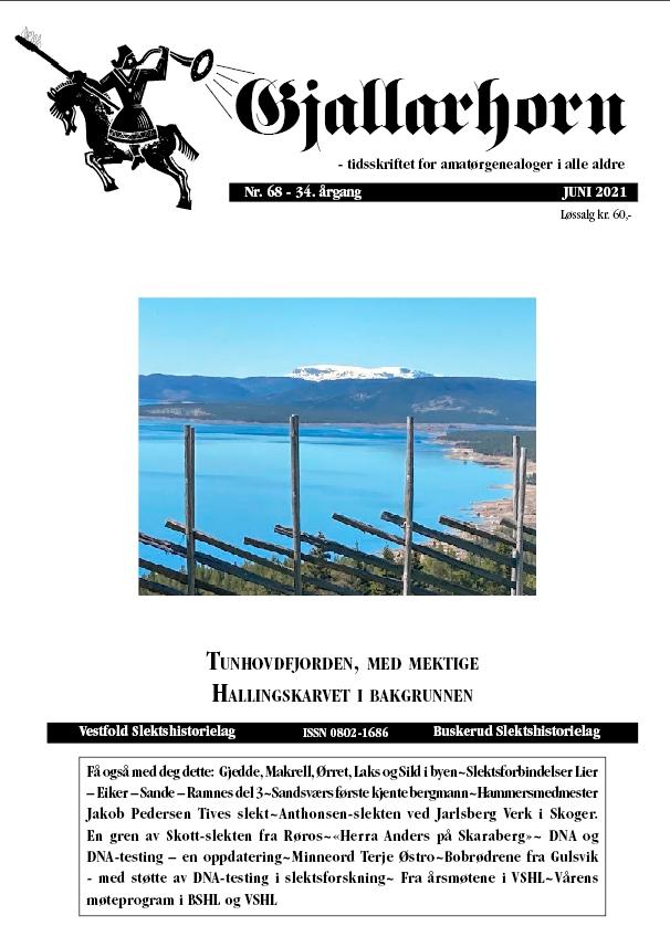 Gjallarhorn nr 68 utgitt 2021